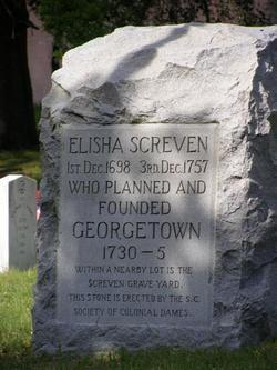 Rev Elisha Screven