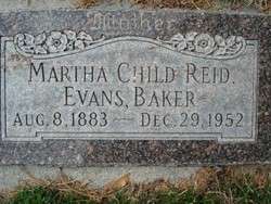Martha <I>Child</I> Baker