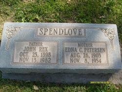 Edna Christina <I>Peterson</I> Spendlove