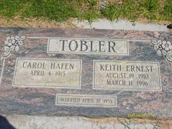 Keith Ernest Tobler