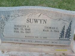 Rosalyn Frances <I>Loving</I> Suwyn