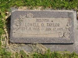 Lowell Ovear Taylor