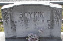 "Nina Letitia ""Neshie"" <I>Sheppard</I> Boykin"