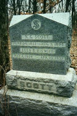 """Sarah Ellen """"Ella"""" <I>Brown</I> Scott"""