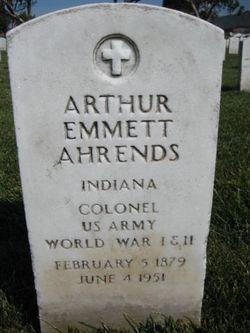 Arthur Emmett Ahrends