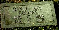 Dannie Mae <I>Johnson</I> Collins