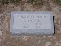 Susan Anna <I>Edwards</I> Chance
