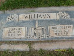 Maurine <I>Park</I> Williams