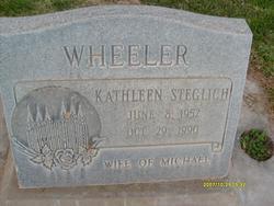 Kathleen <I>Steglich</I> Wheeler