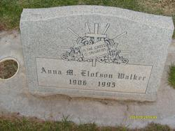 Anna Marie <I>Elofson</I> Walker
