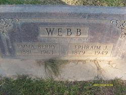 Emma Lovinia <I>Berry</I> Webb