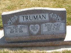 Boyce Almus Truman