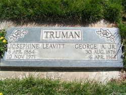 Josephine Abigail <I>Leavitt</I> Truman