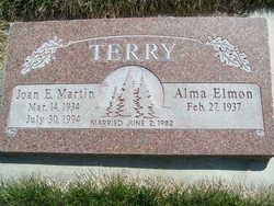 Joan E <I>Martin</I> Terry
