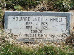 Howard Lynn Staheli