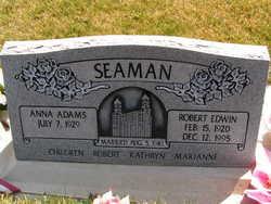 Robert Edwin Seaman