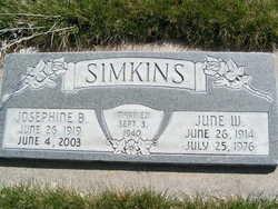 June Winsor Simkins