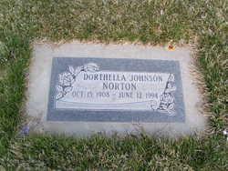 Dorthella May <I>Johnson</I> Norton