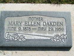 Mary Ellen Alger <I>Lytle</I> Oakden