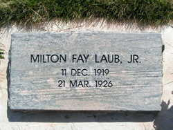 Milton Fay Laub, Jr