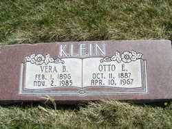 Vera Belinda <I>Edwards</I> Klein