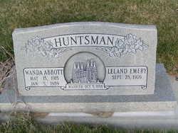 Wanda Belle <I>Abbott</I> Huntsman