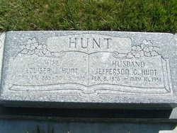 Louisea Caroline Dover <I>Jones</I> Hunt