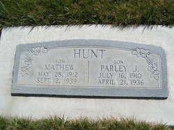Mathew Hunt