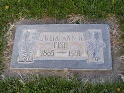 Julia Ann <I>Reidhead</I> Fish