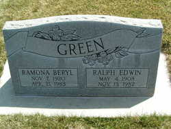 Ralph Edwin Green
