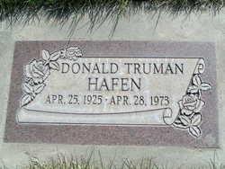 Donald Truman Hafen