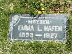 Emma Lasina <I>Truman</I> Hafen