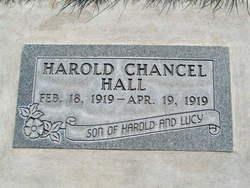 Harold Chancel Hall