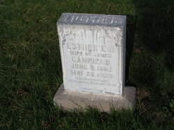 Esther Ella <I>Harmon</I> Canfield