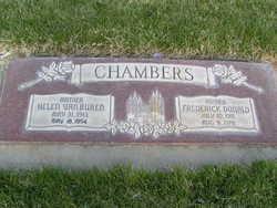Helen Van <I>Buren</I> Chambers