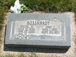 """Rachel Jones """"D"""" Bosshardt"""