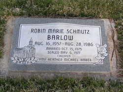 Robin Marie <I>Schmutz</I> Barlow