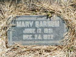 Mary Barnum