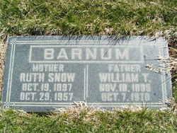 Ruth <I>Snow</I> Barnum