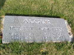 Iona Fern <I>Alger</I> Alger