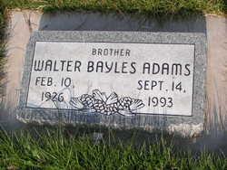 Walter Bayles Adams