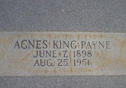 Agnes <I>King</I> Payne