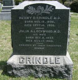 Dr Henry Dyer Grindle