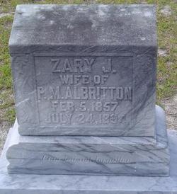 Zary Jane <I>Taylor</I> Albritton