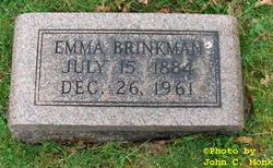 Emma <I>Wagner</I> Brinkman