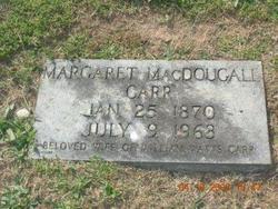 "Margaret ""Madge"" <I>MacDougall</I> Carr"
