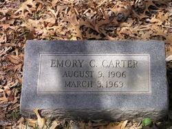 Emory C Carter