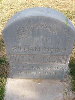 William Manti Workman