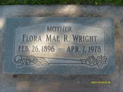 Flora May <I>Russell</I> Wright