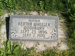 Bertha <I>Wheeler</I> Woodbury